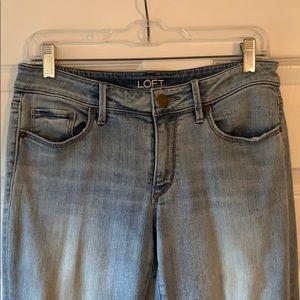 LOFT Jeans - Loft curvy skinny ankle jeans